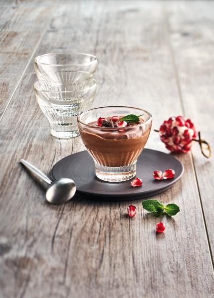 Vor-Nachspeisen Glas La Rochere Quessant