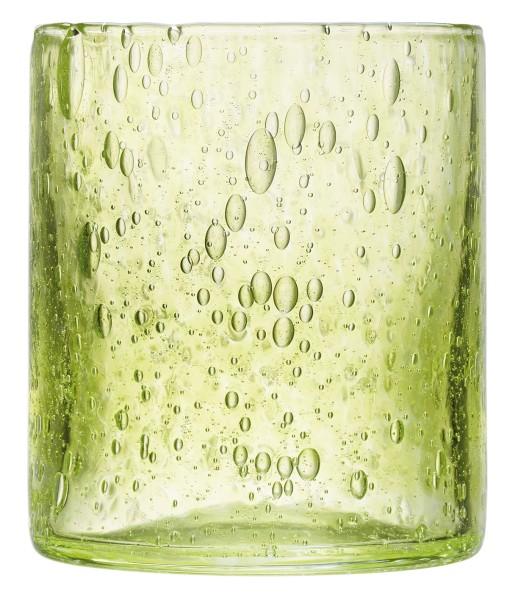 Becher grün La Rochere CRAFT mundgeblasen