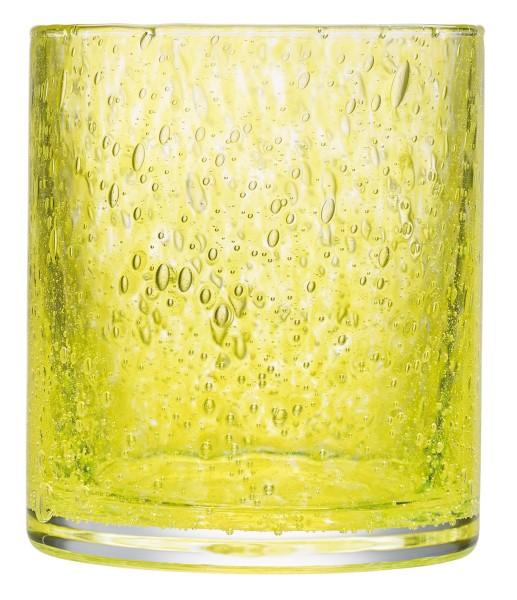 Becher gelb La Rochere CRAFT mundgeblasen