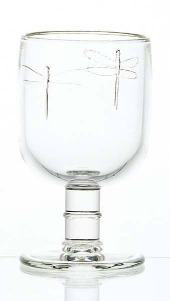 Wein Glas La Rochère Libellules