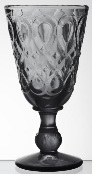 Wein Glas anthrazit La Rochère Lyonnais