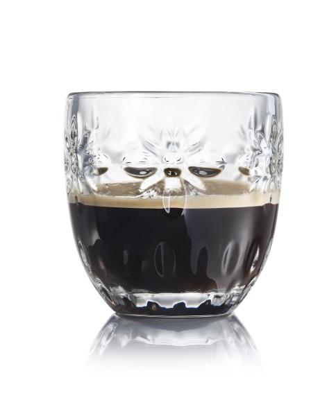 Espresso Glas 10 cl La Rochere Medallion Fleurs