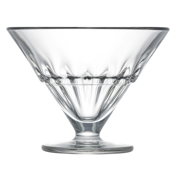 Bowle Glas mit Früchte La Rochère Excselsior