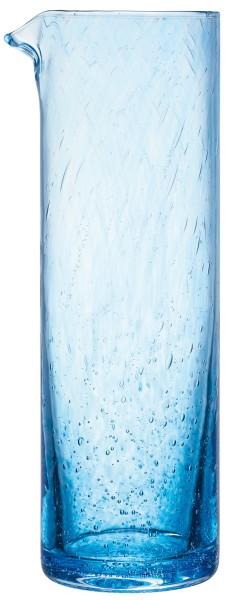 Karaffe blau La Rochere CRAFT handgefertigt