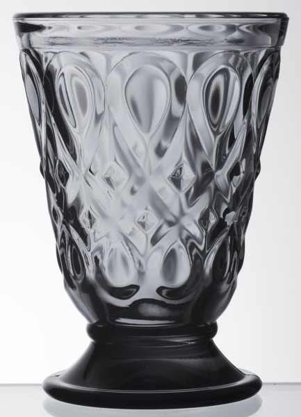 Wasser Glas anthrazit La Rochère Lyonnais