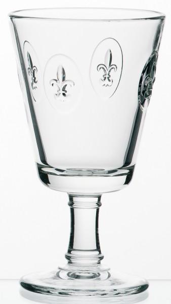 Wein Glas La Rochere Fleur de Lys