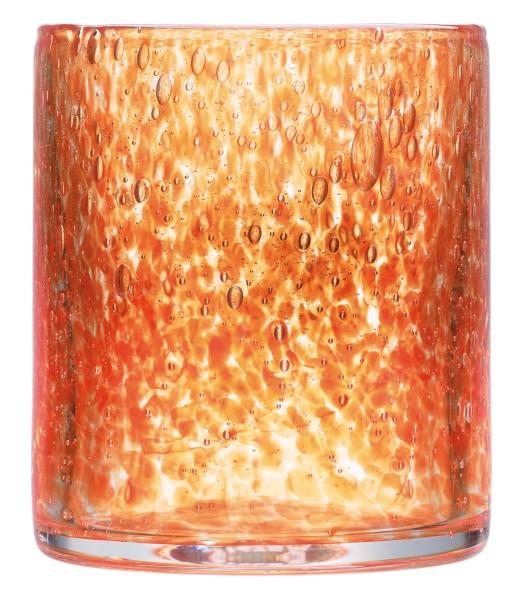 Becher orange La Rochere CRAFT mundgeblasen